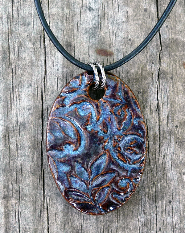Denim Blue Collection Pendant