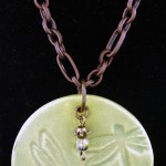 Dragonfly Pendant by Kathryn Depew & Judy Cleve