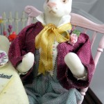 Alice in Wonderland March Hare Doll by Lynn McEntire