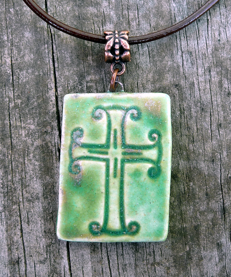 How to Make Kiln-Fired Clay Pendants & Buttons | Cotton Ridge Create!