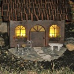 Miniature Lighted Fairy House