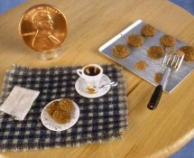 Miniature Tea & Molasses Cookies by Kathryn Depew