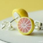 Grapefruit_Earrings_by_Hummingbird_Miniatures