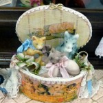 Kittens in Basket by Lynn McEntire