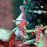 Miniature Christmas Elf by Pixie Dust Miniatures