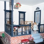 Miniature Porch by Kathryn Depew - Front