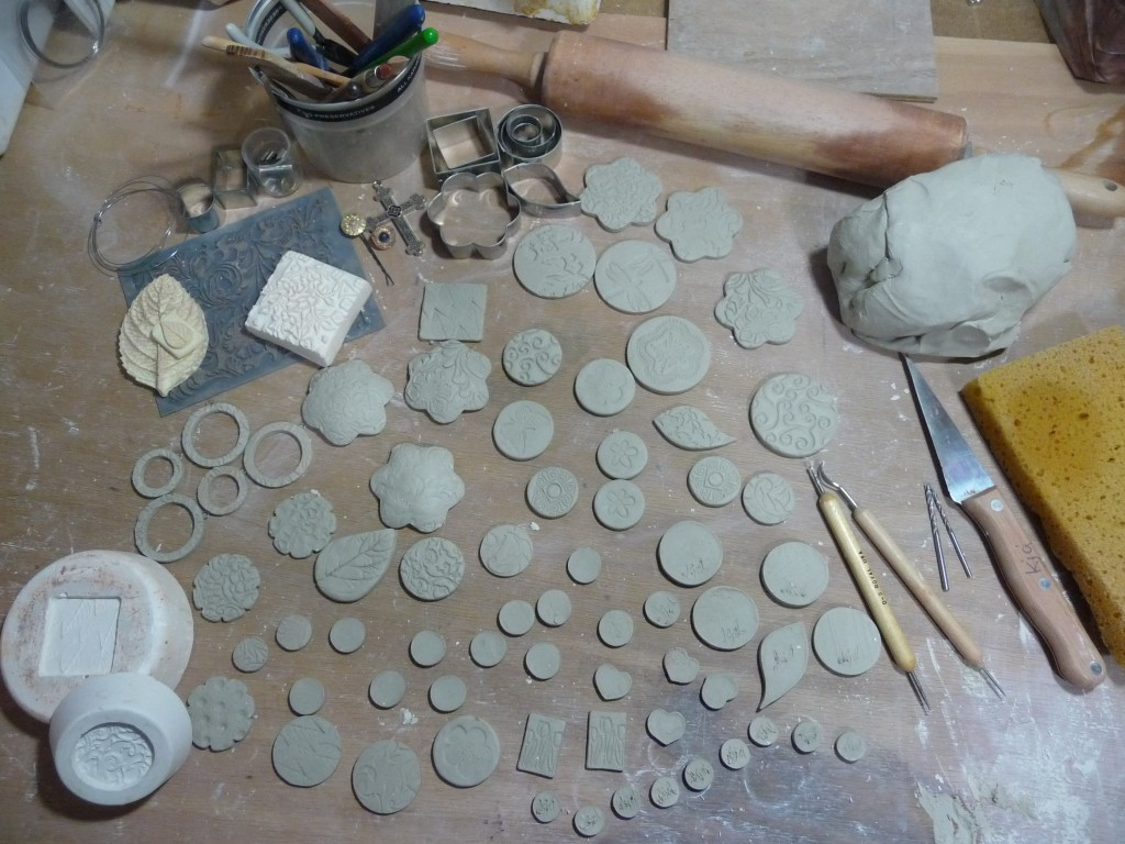 Making Clay Pendants, Earrings & Buttons
