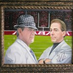The Legacy Continues (Framed) by Betty Burchfield - Signed by Nick Saban