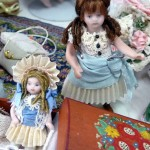 Two Miniature Dolls by Kathryn Depew