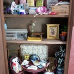 Vintage Cabinet by Kathryn Depew - Close