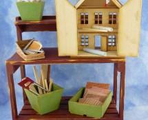 Dollhouse on Workbench by Kathryn Depew 50