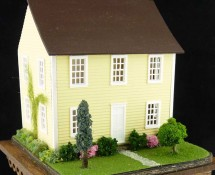 Landscaped Dollhouse for a Dollhouse by Kathryn Depew