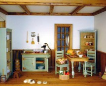 Miniature Vintage Kitchen by Kathryn Depew - Previous Scene