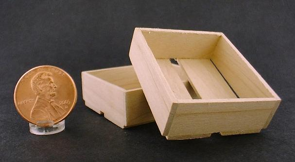 Unfinished Wooden Crate