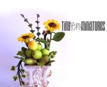 Flower & Fruit Arrangement by Teresa Martinez