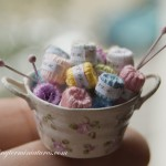 Knitting Basket by Teresa Martinez