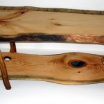 Knot Hearts White Pine Coffee Table