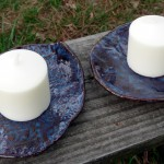 Denim Blue Candleholders 2