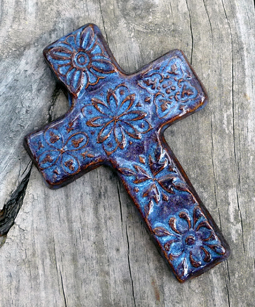 Denim Blue Large Cross 3