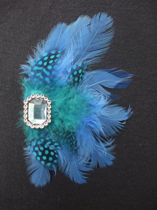 Feather Hair Clip by Dani Carter