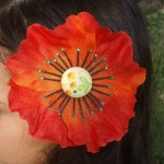 Flower Hair Clip by Dani Carter
