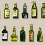 Miniature Bottles by Silvia Bolchi