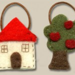 Miniature Felt Purses by Silvia Bolchi