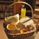 Miniature Honey Basket by Silvia Bolchi