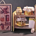 Miniature Honey Display by Silvia Bolchi