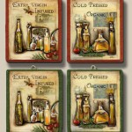 Miniature Olive Oil Signs by Silvia Bolchi