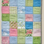 Miniature Spring Quilt by Silvia Bolchi