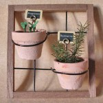 Miniature Plant Rack by Silvia Bolchi