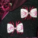 Poinsettia Hair Bows by Dani Carter