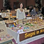 Silvia Bolchi and Her Miniature Show Table in 2007