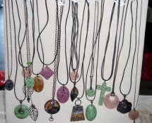 Standing Necklace Display For Craft Shows