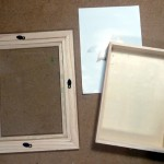 2. Shadow Box Taken Apart