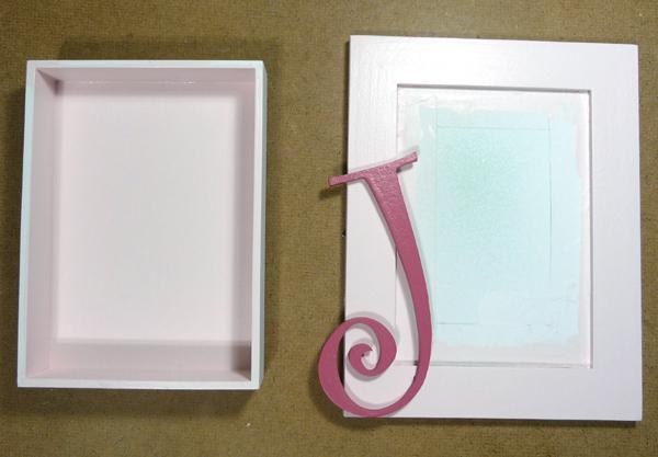 4 paint the shadow box frame - Diy Shadow Box Frame