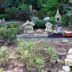 Garden Railway - Village Scene