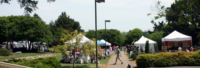 Huntsville Botanical Garden Sidewalk Arts Stroll 2012