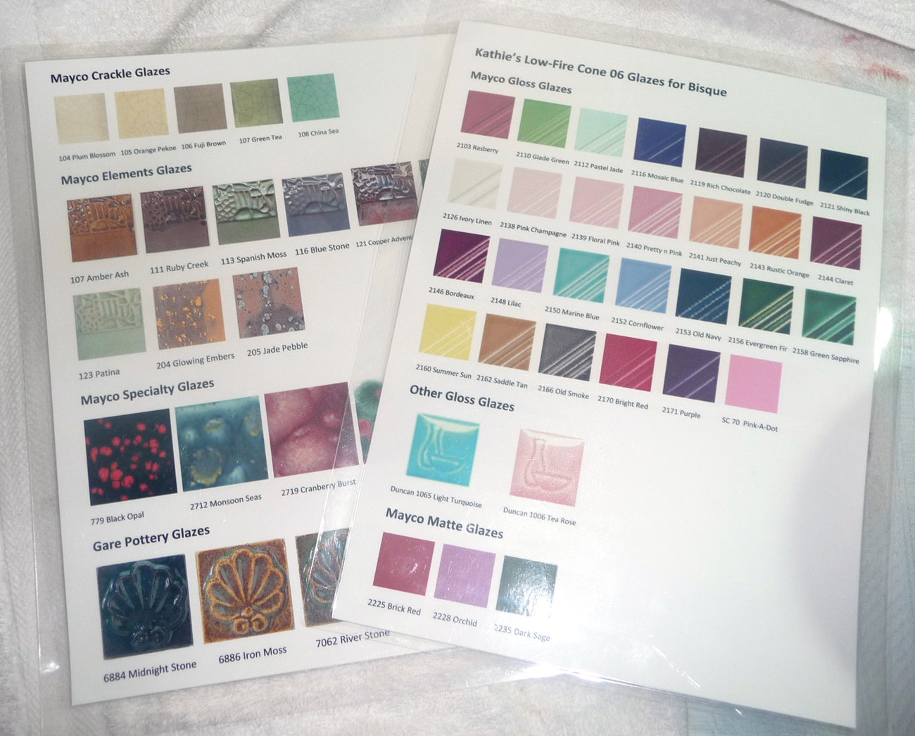 Creative kids paint your own pottery cotton ridge create laminated glaze color charts geenschuldenfo Choice Image