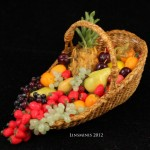 Miniature Fruit Basket by Linda Cummings