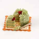 Miniature Kiwi Cake by Linda Cummings