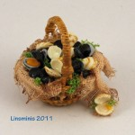 Miniature Seafood Basket by Linda Cummings