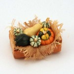 Miniature Squash Crate by Linda Cummings