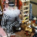 Miniature Clown Shop by Sharyn Wood - Close