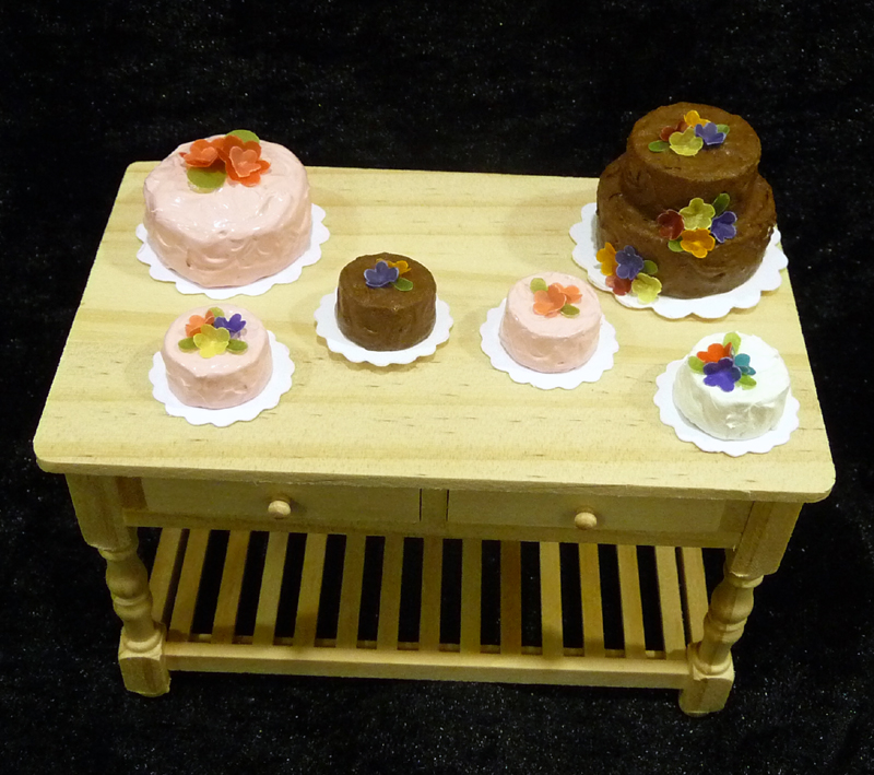 Miniature Cakes by Kathryn Depew
