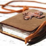 Handmade Leather Journal with Celtic Cross by Michael Graham