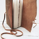 Handmade Leather Outdoorsman Journal by Michael Graham