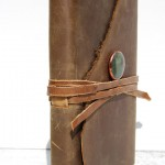 Handmade Leather Travel Journal by Michael Graham