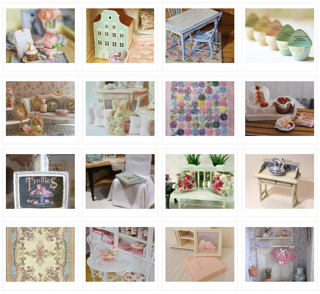 Shabby Chic In Miniature